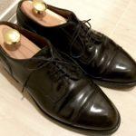 〝靴を受け継ぐ 〜旅する靴〜  〟〜ALDEN コードバン キャップトゥ〜