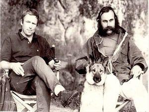 ジョージ・マークス(右)とボブ・スワンソン(左)