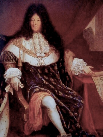 ルイ14世肖像画