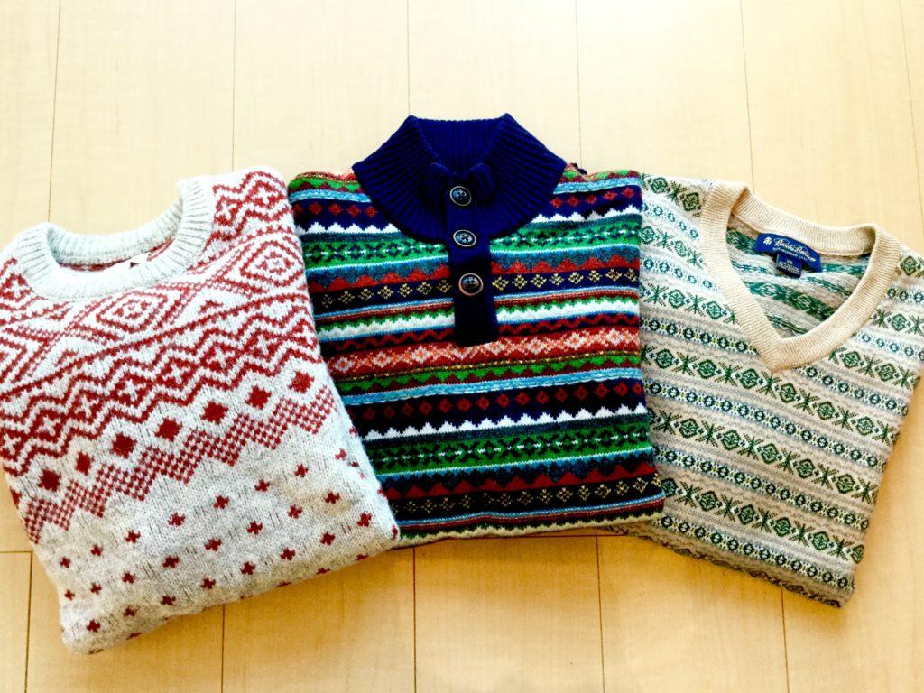 Brooks Brothers のフェア・アイル・セーター