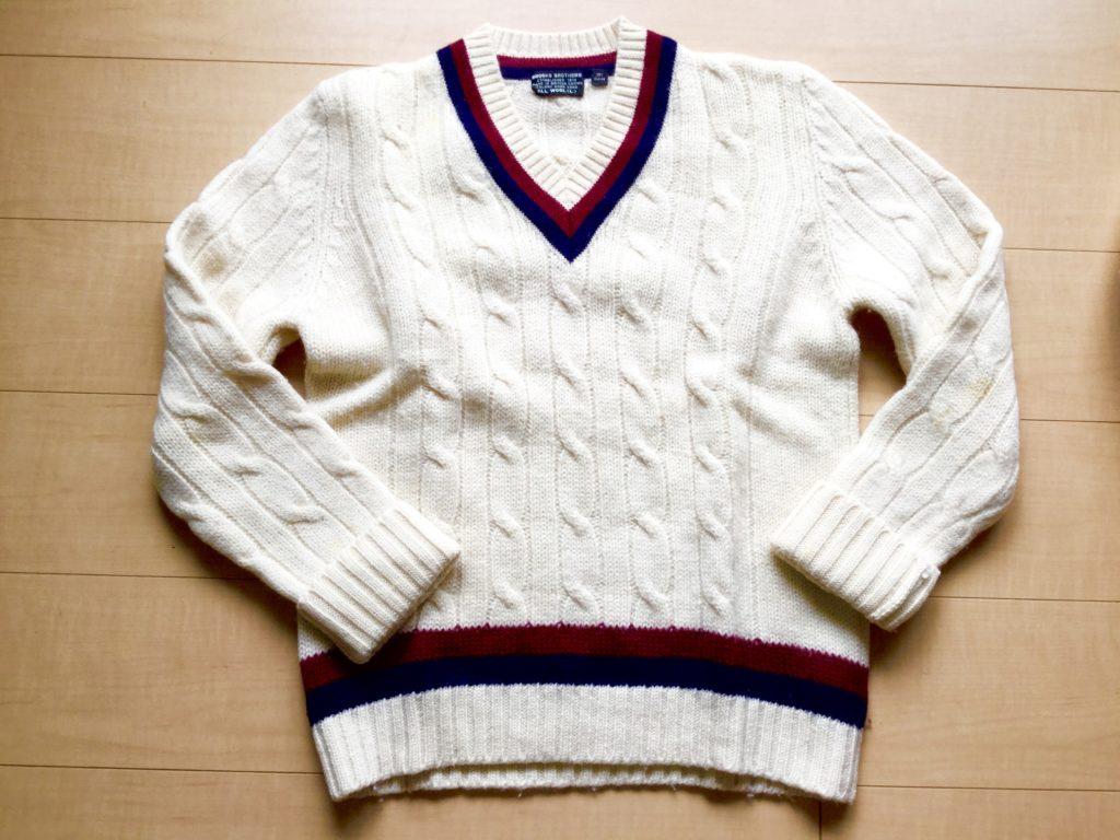 Brooks Brothers のクリケット・セーター