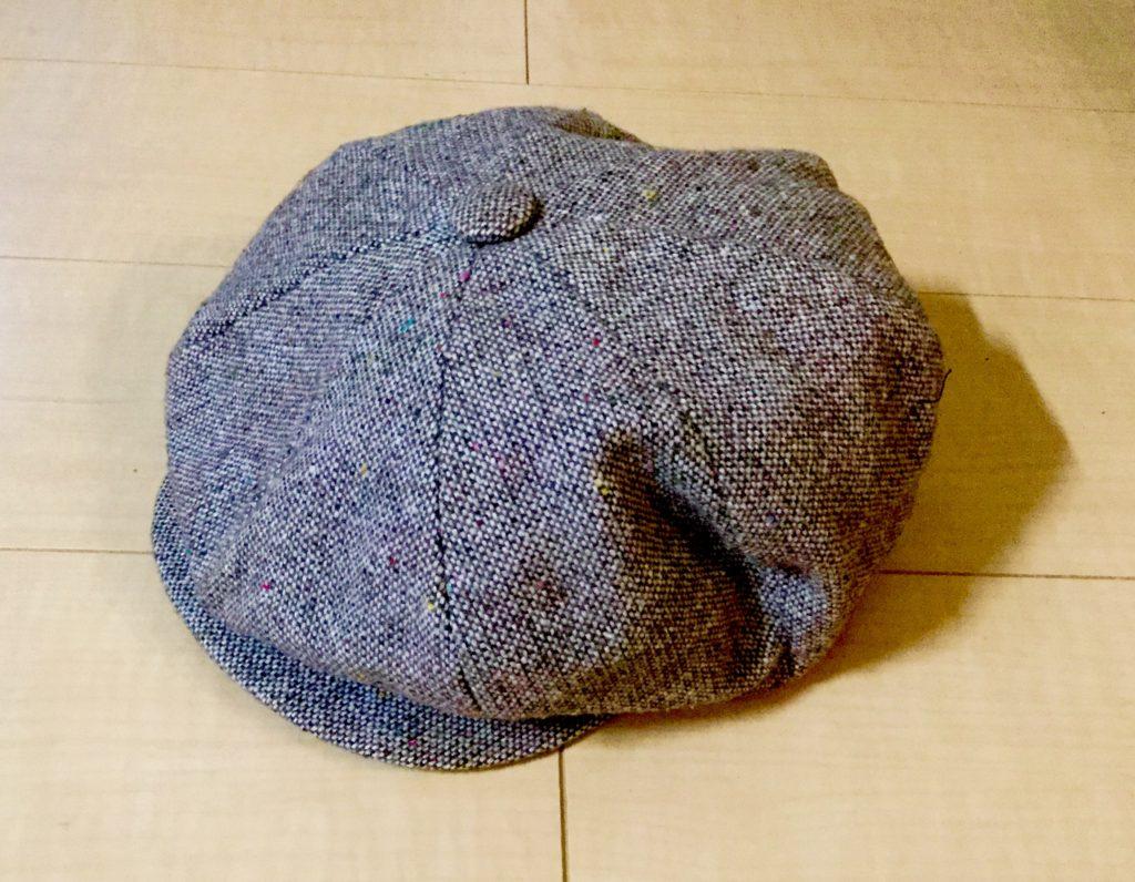 NEWYORK HATのツイード・キャスケット
