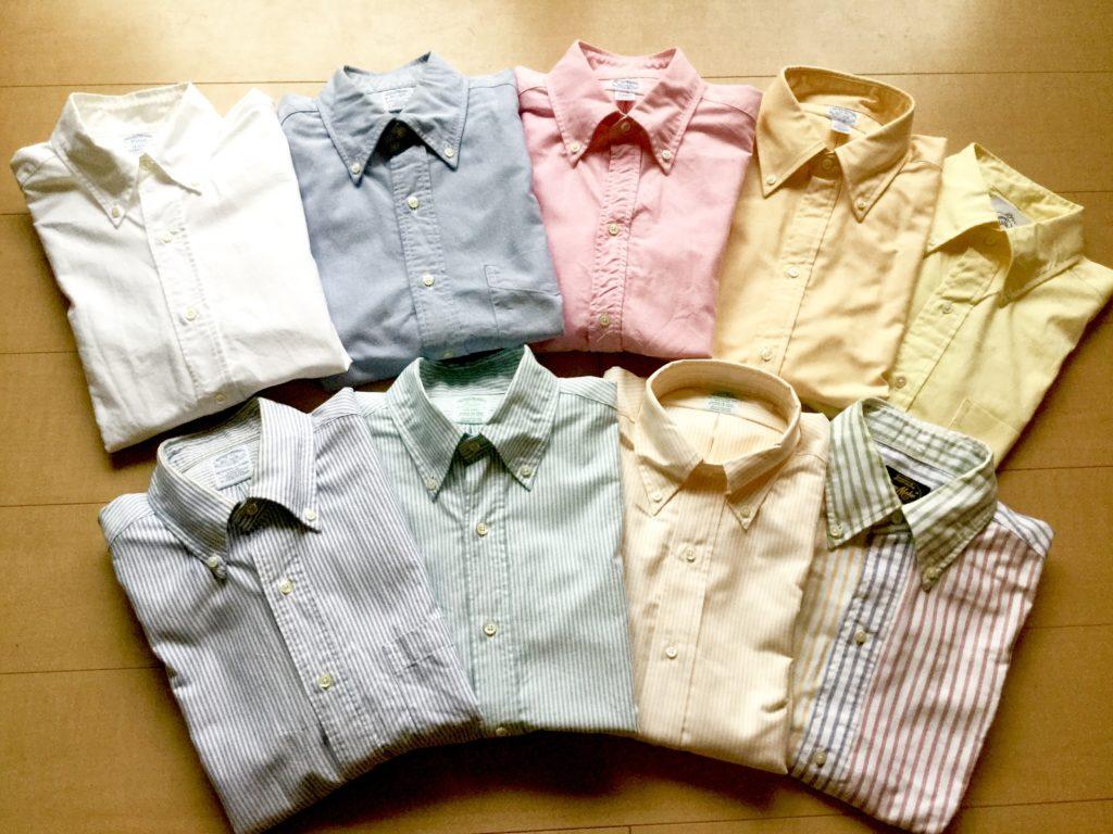 Brooks Brothersのポロカラー・シャツ