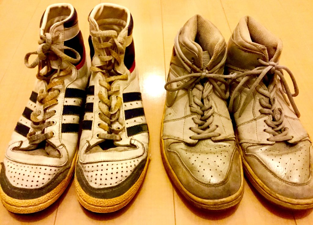 80年代adidas 「Top Ten」 AIR JORDAN 1 2001